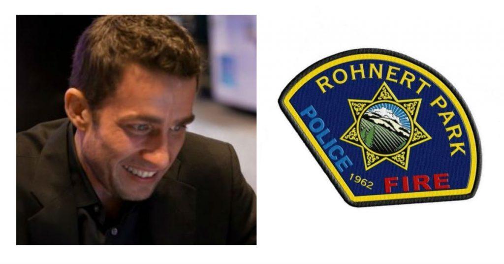 Zeke Flatten Rohnert Park Police and FIre
