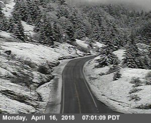 Berry Summit snow