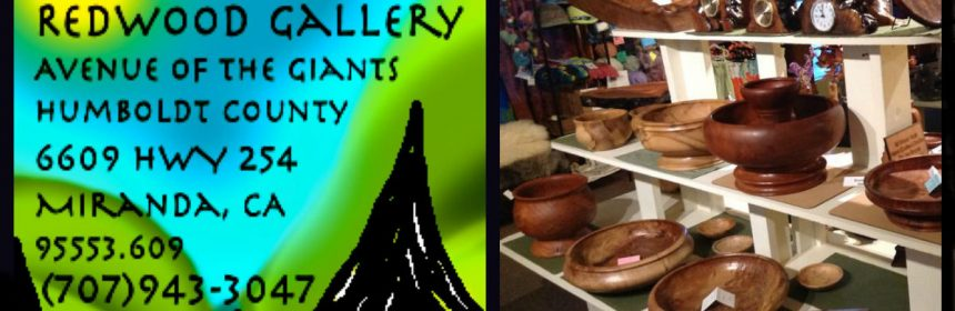 Art of the Burl Redwood Gallery