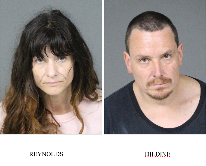 James Dildine and his live in girlfriend, 49 year old Chere Reynolds.