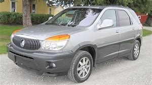 a 2003 silver Buick Rendezvous
