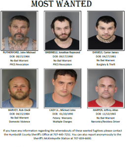 Most wanted north humboldt