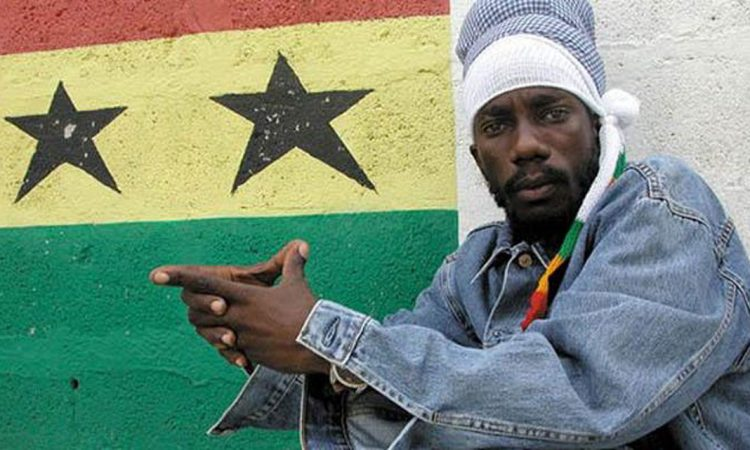 Sizzla poster for the July 13th performance