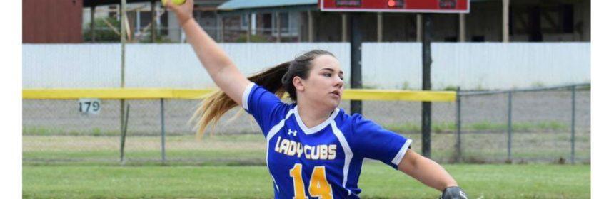 pitching girl