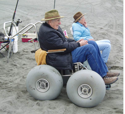 Beach Wheelchair The California Coastal Commission