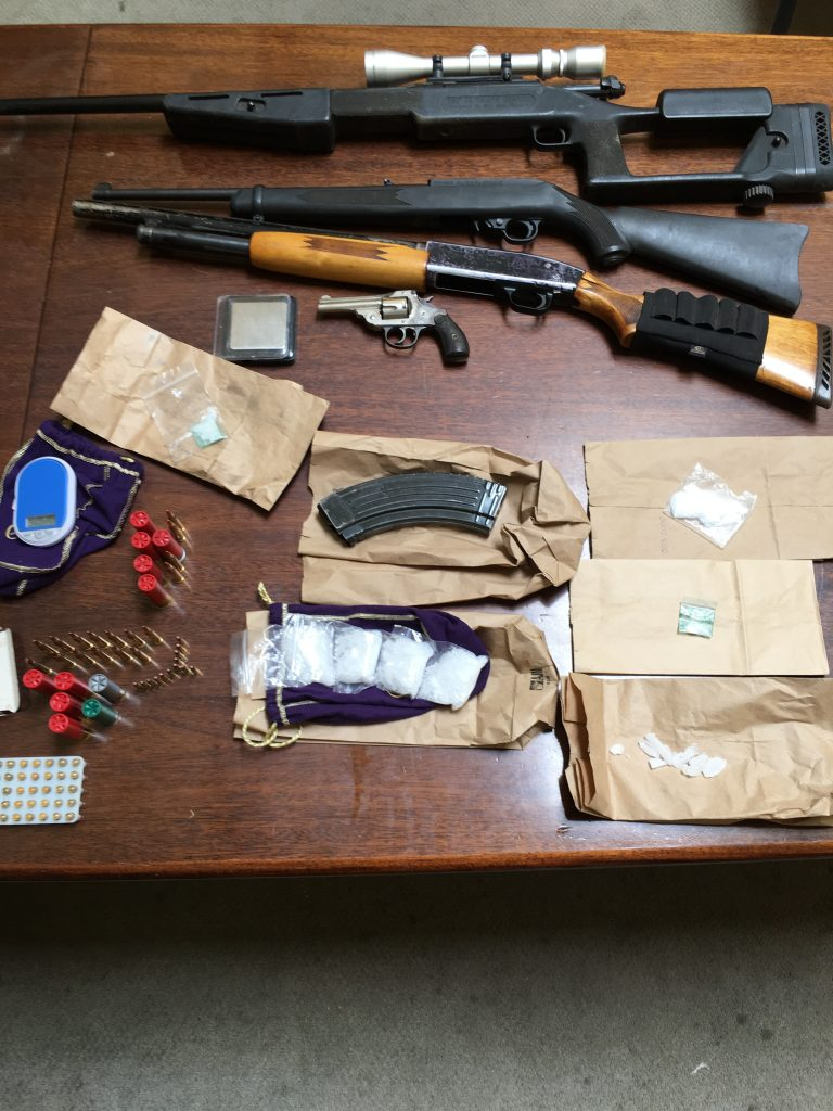 Drugs and firearms
