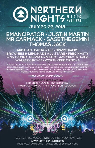 Deep In Heart Of Emerald Forest >> 6th Annual Northern Nights Releases Next Artist Additions