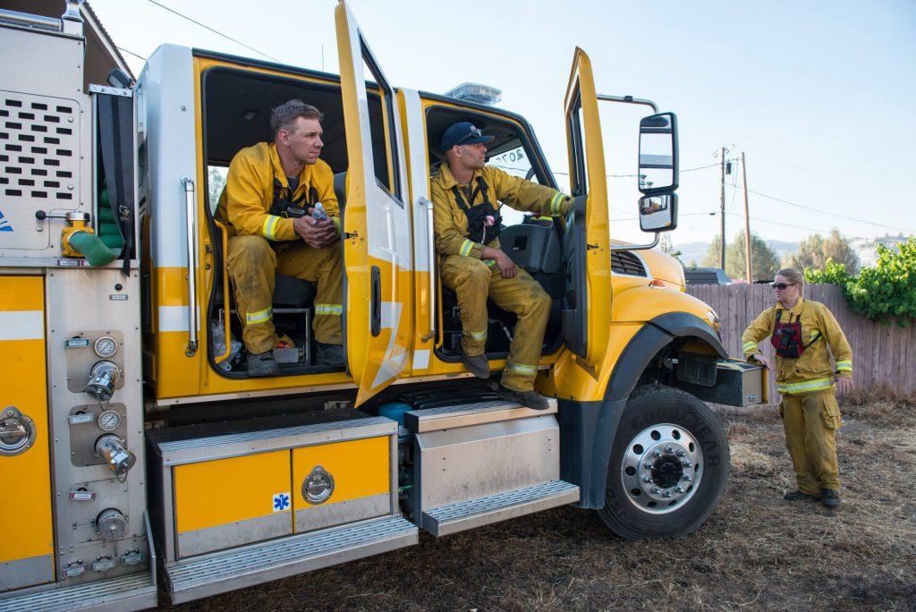 Humboldt Bay Fire resting