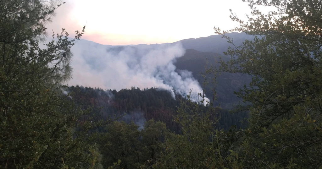 Flat Fire late Thursday evening. 150 acres and 0% contained.