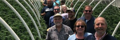 tourism Marketers in Southern Humboldt greenhouse