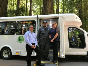 Humboldt County transit authority bus
