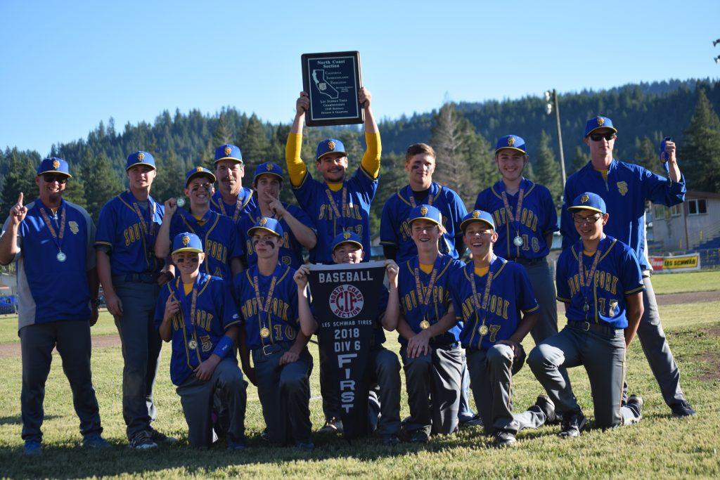 South Fork Cubs team photo.