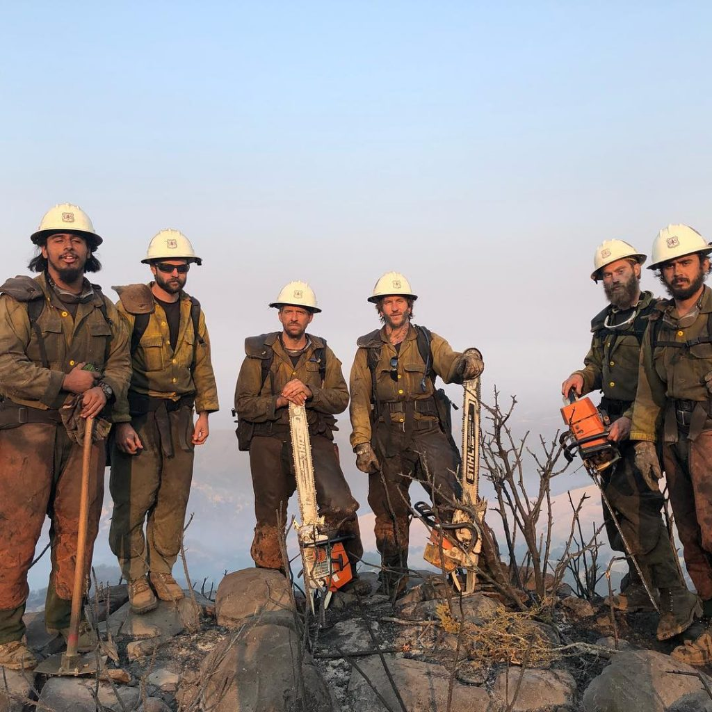 After helping push back the County Fire by Lake Berryessa, the Klamath Hotshots are headed home today for some much needed rest. Probably, after the mandatory two days off, they will be reassigned to the Klamathon.