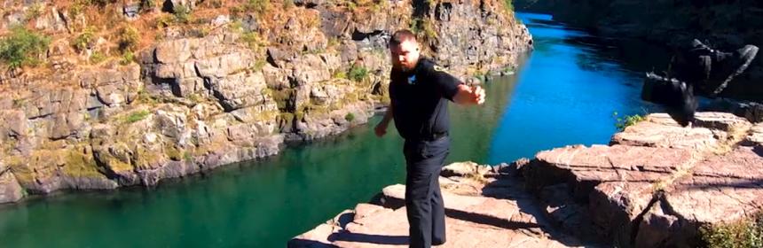 screengrab from Del Norte Sheriff's lip Sync video