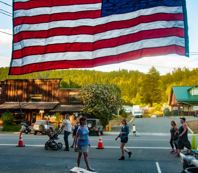 Every July 4, the picturesque hamlet of Miranda goes all out