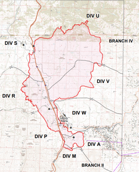 Klamathon FIre Map
