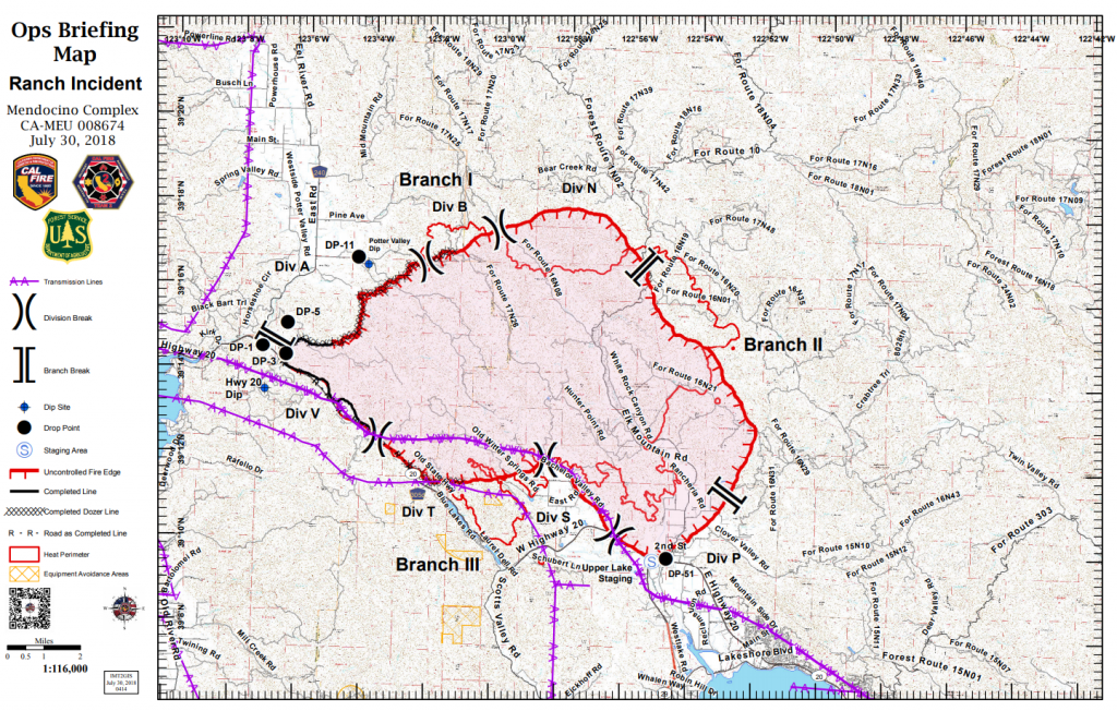 Ranch Operations Map 30th