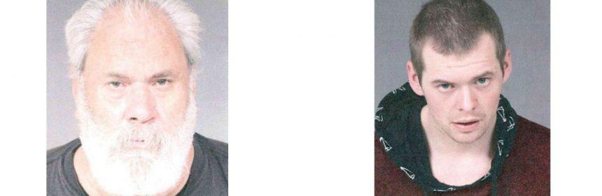 mugshots Marc Scot Henson and Leland Nelson Shinn.