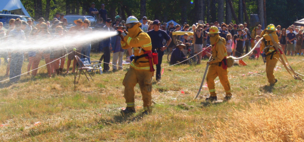 The Honeydew Volunteer Fire Company hose games