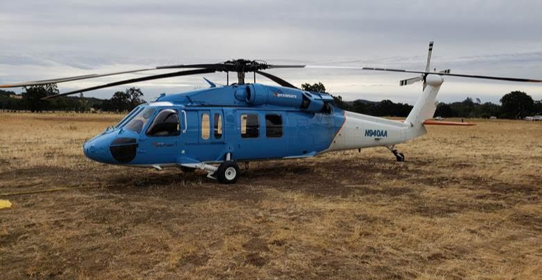 pg&e helicopter