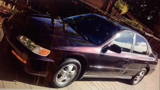 1997 Honda Accord purple