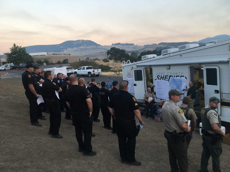 Utility worker killed near near Carr Fire