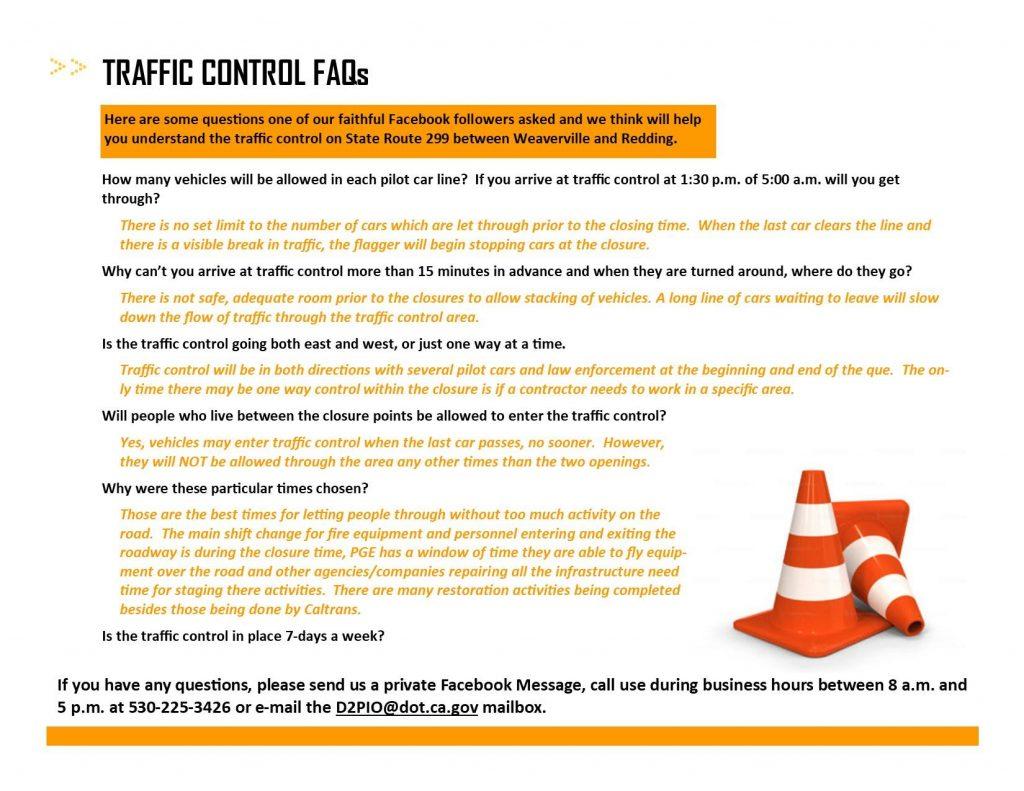 299 Caltrans District 2 post on Facebook.