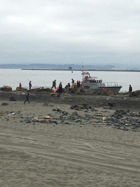 Coast guard medical rescue