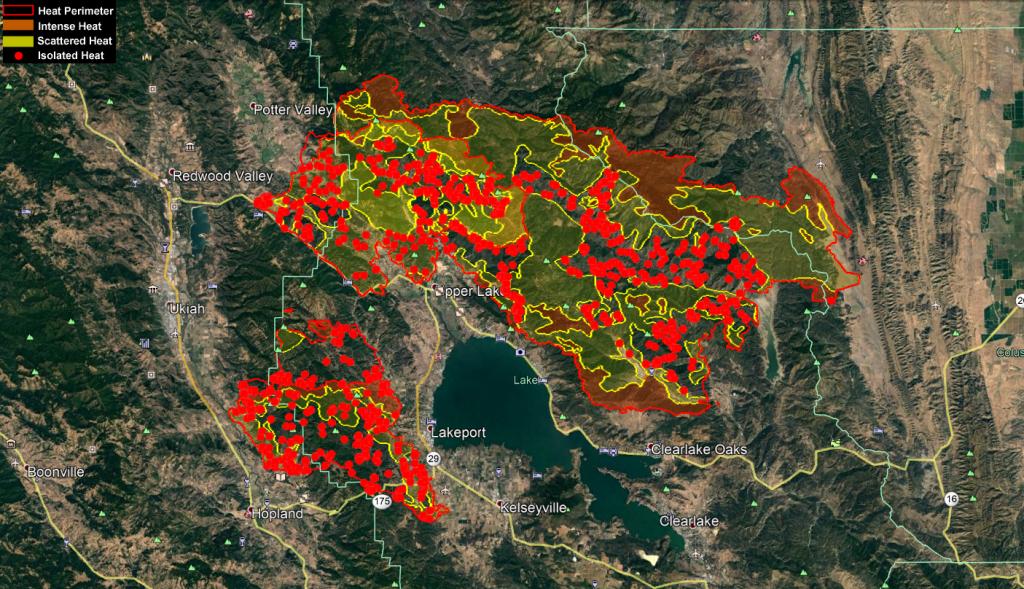Mendocino Complex Ops Map