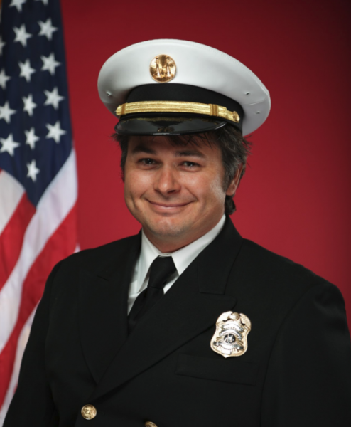 Draper Battalion Chief Matthew Burchett