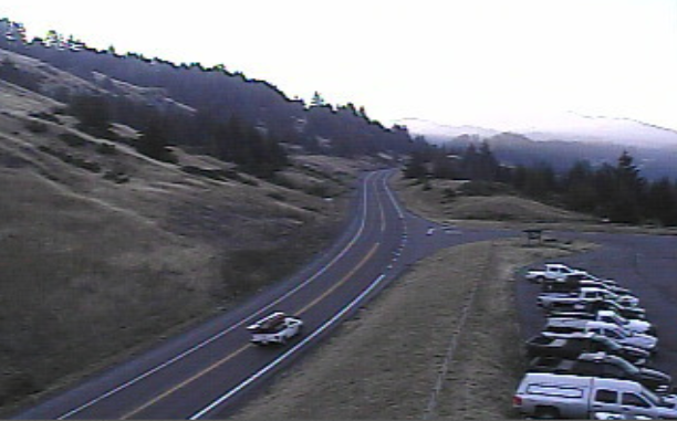 A convoy is gathering on Berry Summit this morning.