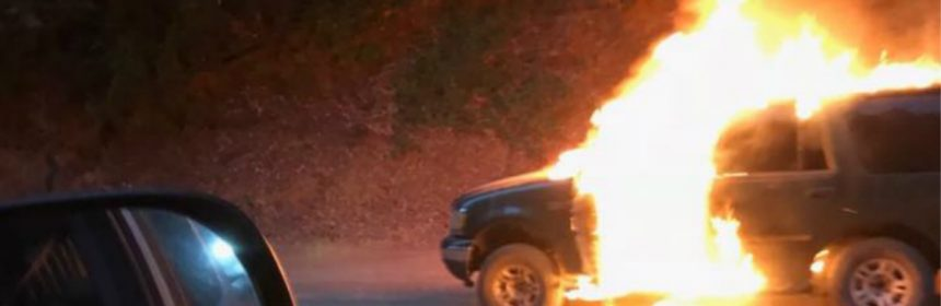 Last night, Supervisor Estelle Fennell called in a car fire on the Shelter Cove Road just west of the Ettersburg Junction. Unbeknownst to her, it contained the bodies of two people.