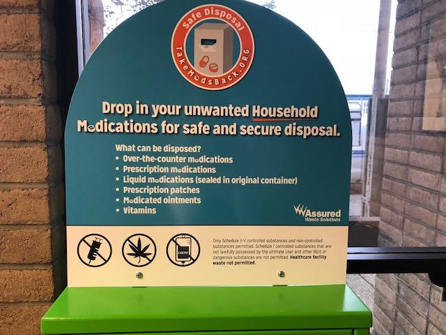 Safe Disposal Bin