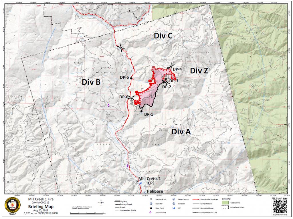 Mill Fire Map 10 3 Kaartenstemp Nl