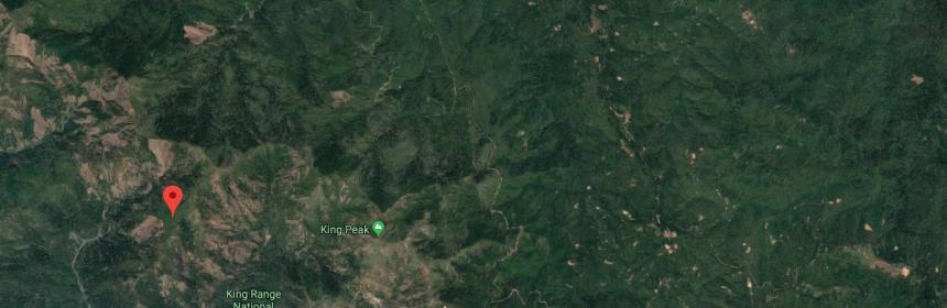 Rattlesnake Ridge marker on Google maps