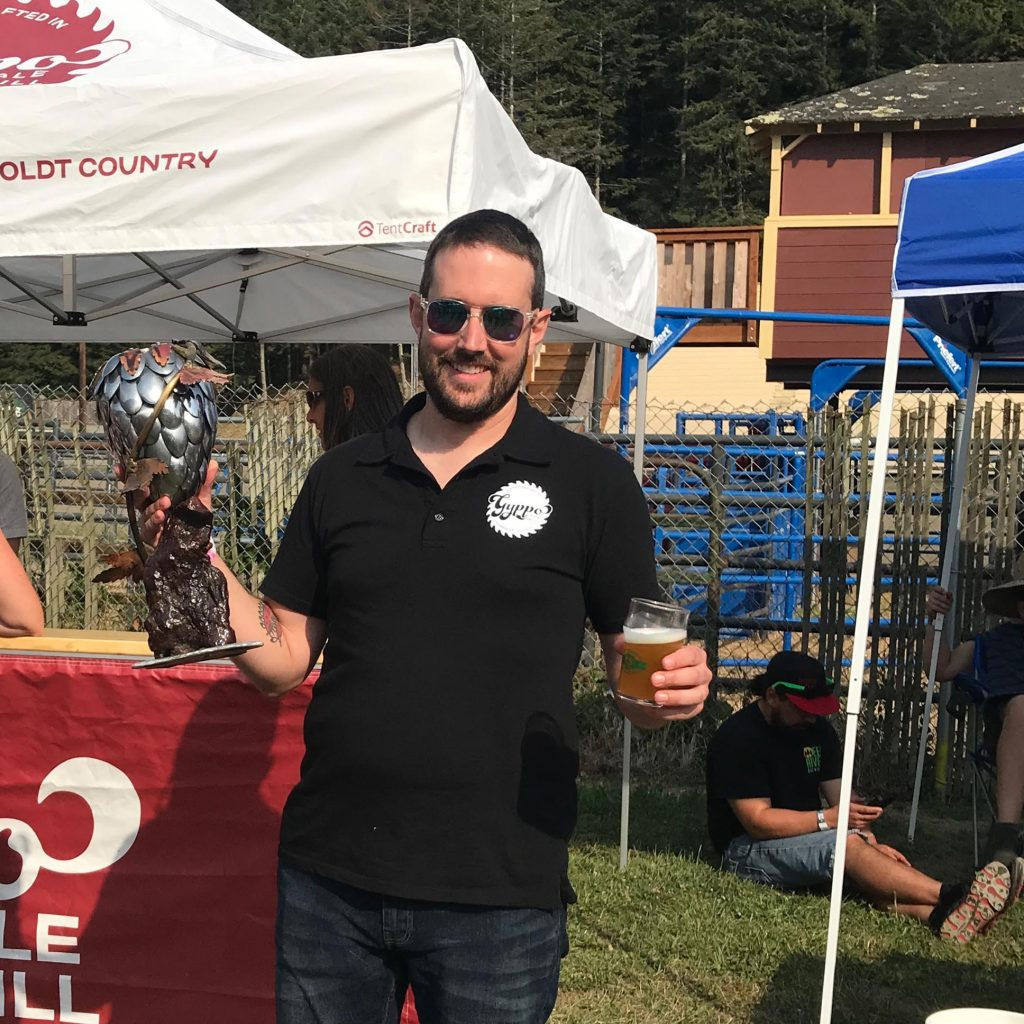 Gyppo Ale winning Hops in Humboldt