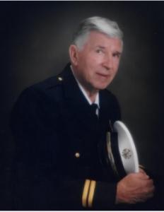 """Fire Chief Robert """"Bob"""" Somerville"""
