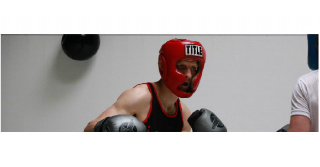 Arcata's Cass Bell, pictured during a sparring session last month.