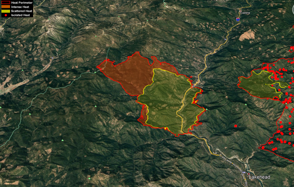 Delta Fire Heat Map Sept 6