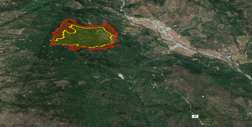 Kerlin Fire Heat Map Sept 6