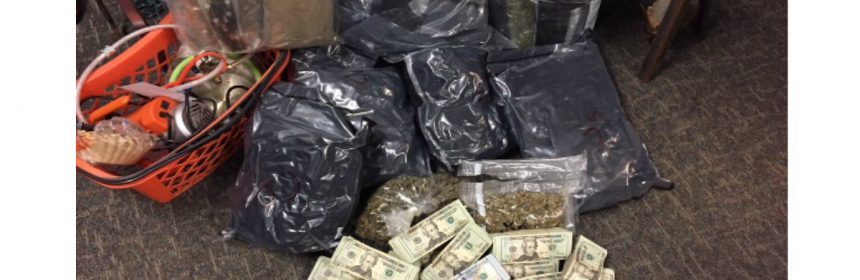 Seized marijuana cash Metro Nashville Police Department