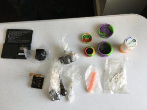 Drugs heroin meth