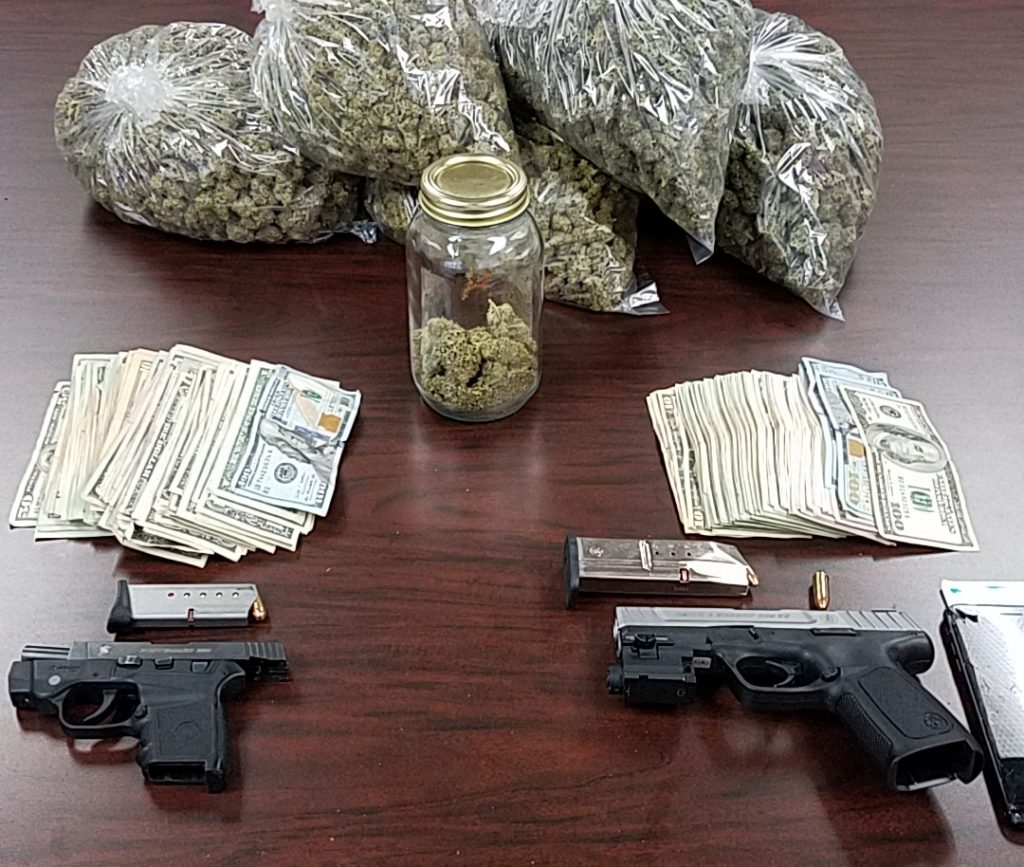 Guns and marijuana Rio Dell Police