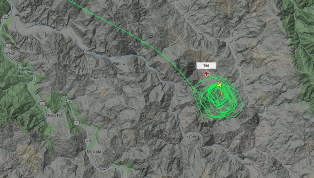 Flighttracker screengrab.