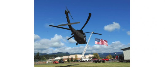 Helicopter american flag fortuna pD