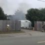 Screenshot of video with smoke