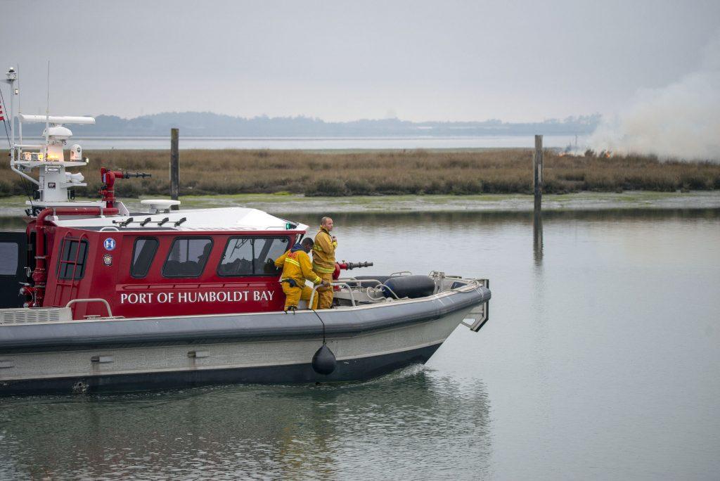 Humboldt Bay Fire Boat