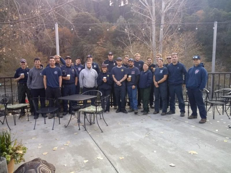 Strike team from Humboldt County