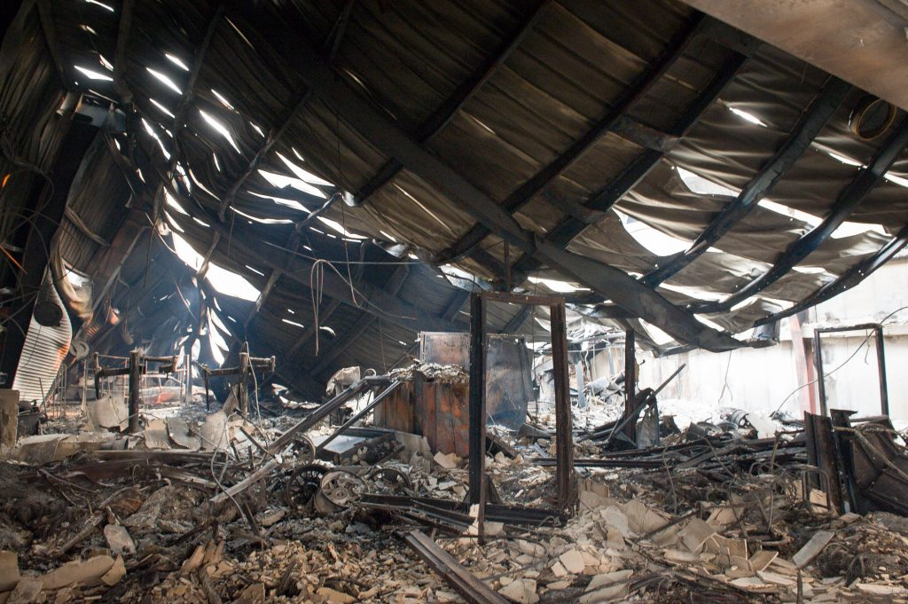 Paradise Tire and Wheels was a victim of the flames of the Camp Fire.