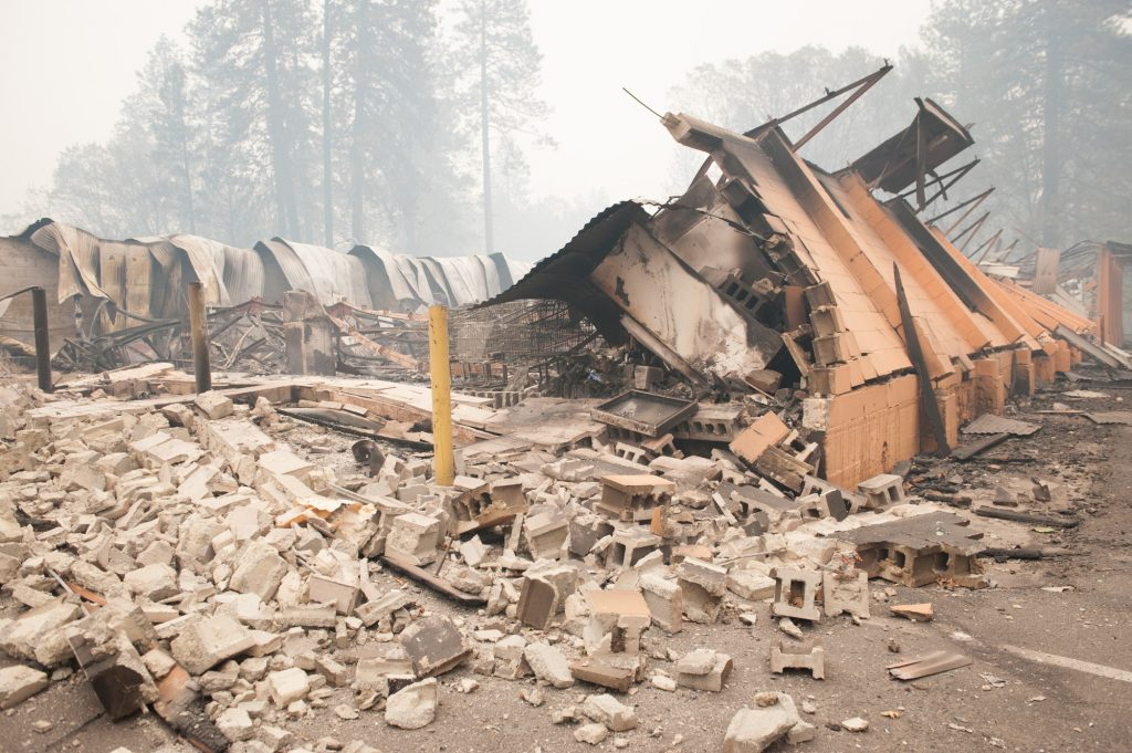 Stratton Market at the corner of Nunneley and Sawmill Roads in Paradise was a victim of the Camp Fire